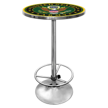 U.S. Army Symbol Chrome 42 Inch Pub Table()