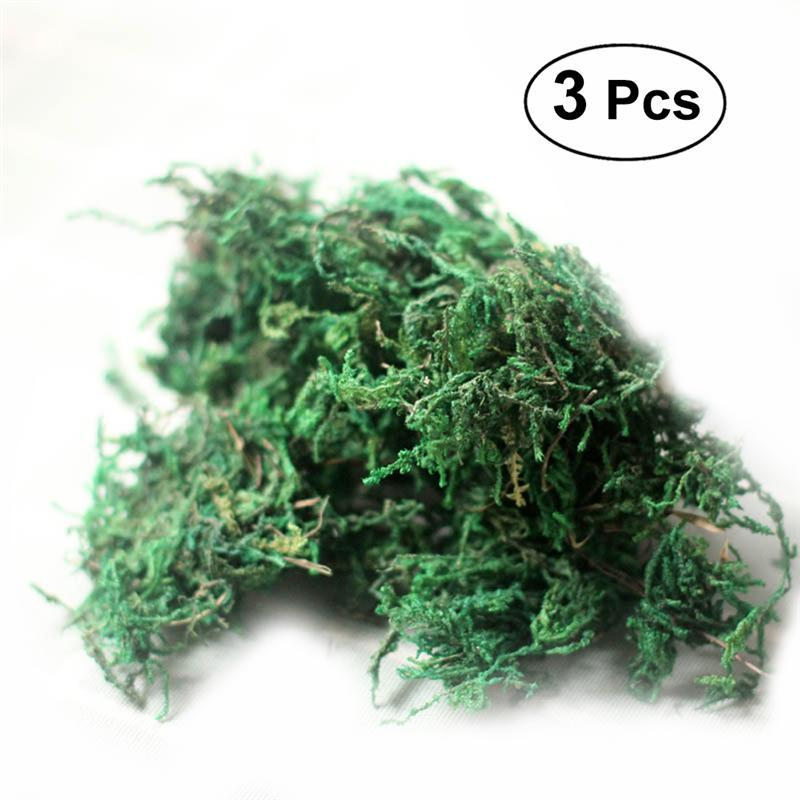 Artificial Decorations Creative Dried Artificial Moss Lining Decor Flower Hanging Baskets Gardening Crafts 8 Oc31 For Drop Ship