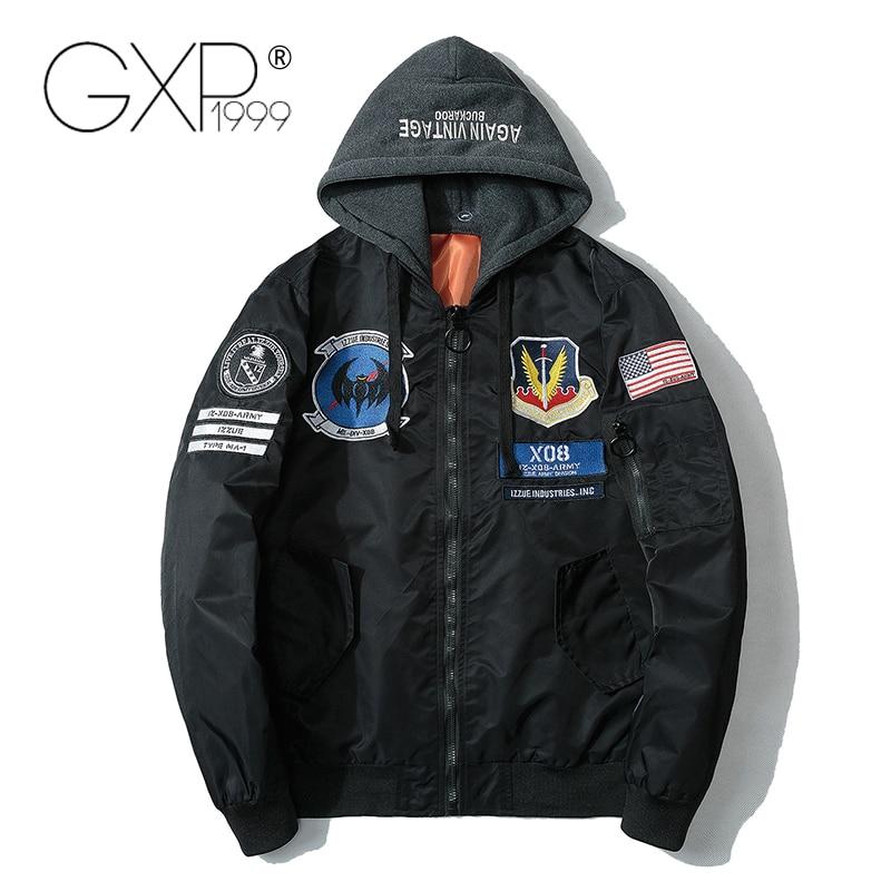 Весна Военная Униформа Куртки Для мужчин шляпе 2 погоны летучая мышь значок 2018 черный Куртки Стандартный уличная Бейсбол ткань gxp1999 A1802