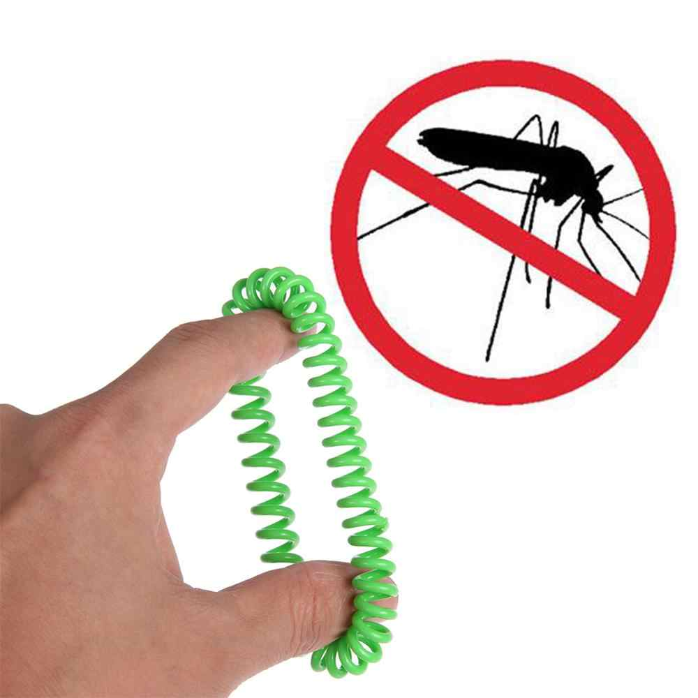 กำไลข้อมือยุง Pest Control แมลงกลางแจ้ง Anti-ยุงสายคล้องมือสำหรับเด็กผู้ใหญ่