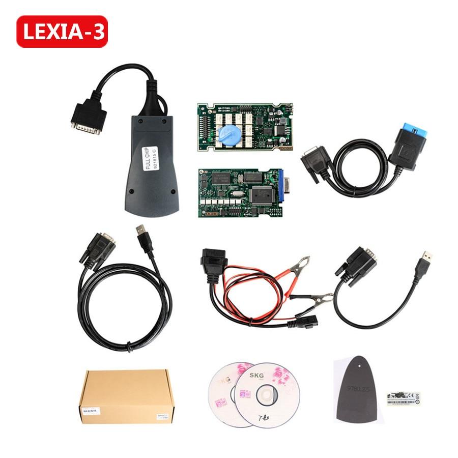 Lexia 3 V48 PP2000 Pour Citroen Peugeot Avec Nouveau Diagbox