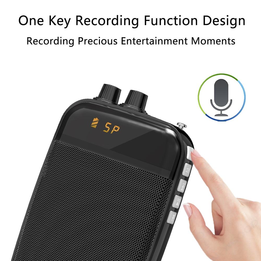 Teacher Voice Recorder Speech Amplifier Loudspeaker Mini Headset Microphone For 1000x1000