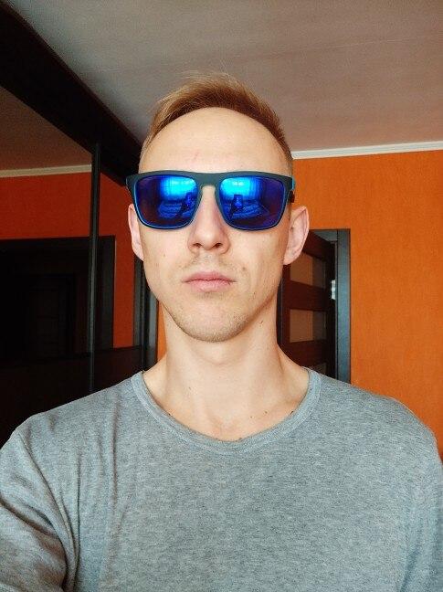 Fashion Guy's Sun Glasses From KDEAM Polarized Sunglasses Men Classic Design All-Fit Mirror Sunglass With Brand Box CE
