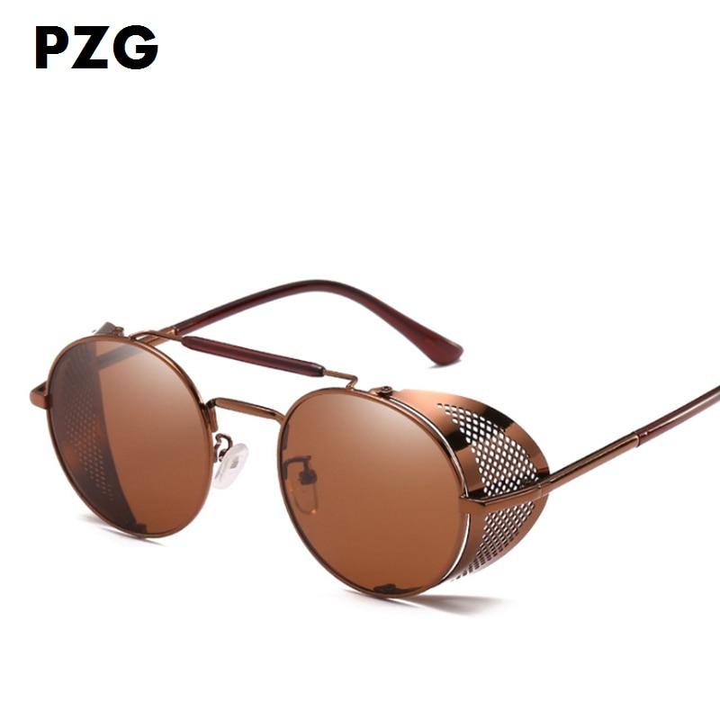 PZG Yeni moda Pank gözlükləri kişilərin gözlüklərini - Geyim aksesuarları - Fotoqrafiya 2