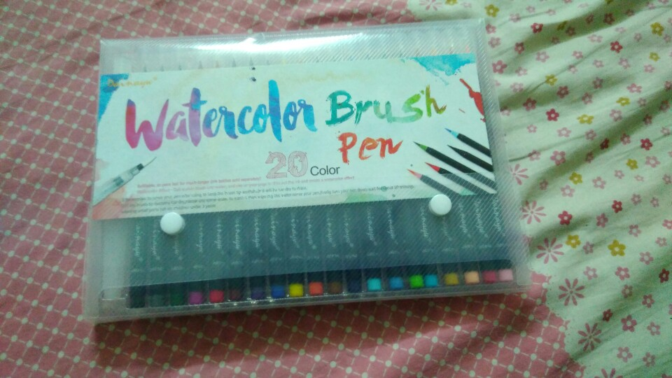Watercolor Brush Pen Set | 20PCs | photo review