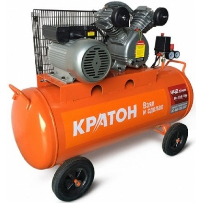 Compressor KRATON with belt transmission AC-440-100-BDV compressor kraton with belt transmission ac 630 110 bdw