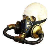 Halloween Gas Mask Cosplay Masquerade Costume Festival Punk Mask Party Supplies Photo Prop Steampunk Mask