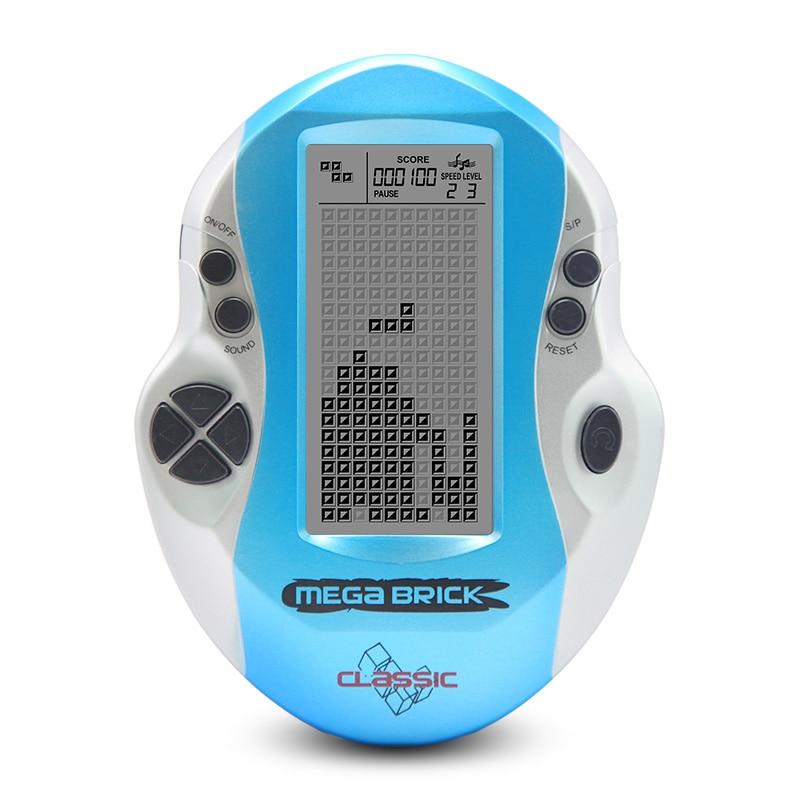 Eingebaute 26 spiel Big screen tetris-spiel kleine handheld klassische nostalgische student puzzle spielkonsole handheld-spiel-spieler