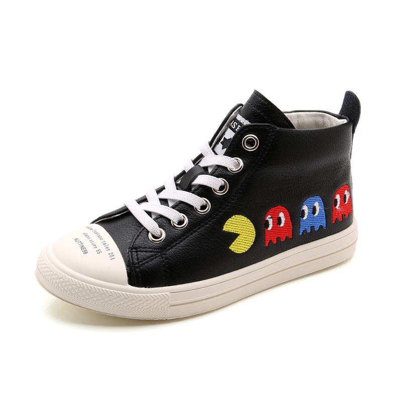 2017 New Autumn Super Charming Kids Shoes Microfiber Leather Waterproof Children Shoes Breathable Lightweight Boys Girls Sneaker kelme 2016 new children sport running shoes football boots synthetic leather broken nail kids skid wearable shoes breathable 49