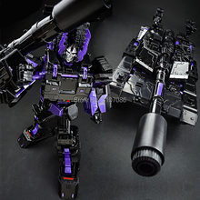 Transformation KBB Galvatron Dark Black Tank Models Alloy Oversize Metal Edition Action Figure Robot Toys(China)
