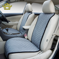 Rownfur Universal Car Seat Cover Suede Protect Covers For Car Seats Car styling Brand Car Seat Cushion Decorate Accessories