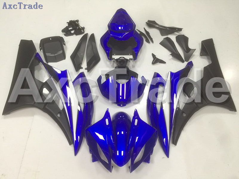 Motorcycle Fairings Kits For Yamaha YZF600 YZF 600 R6 YZF-R6 2006 2007 06 07 ABS Injection Fairing Bodywork Kit Blue Black B45 hot sales yzf600 r6 08 14 set for yamaha r6 fairing kit 2008 2014 red and white bodywork fairings injection molding