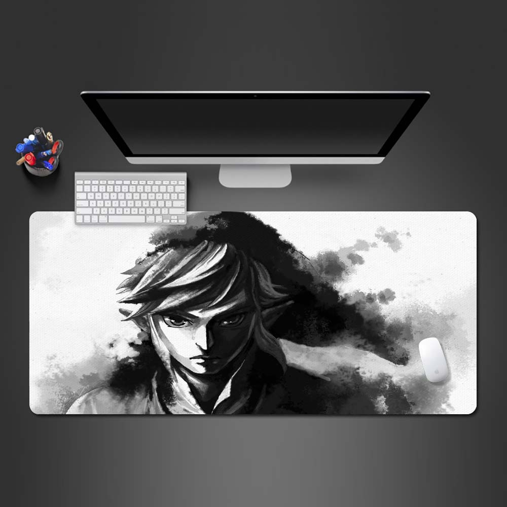 Sketch Animation Boy Mouse Pad Super Hot Large Pad To Mouse Computer Mousepad Anime Gift Gaming Mouse Mats To Mouse Gamer Mat