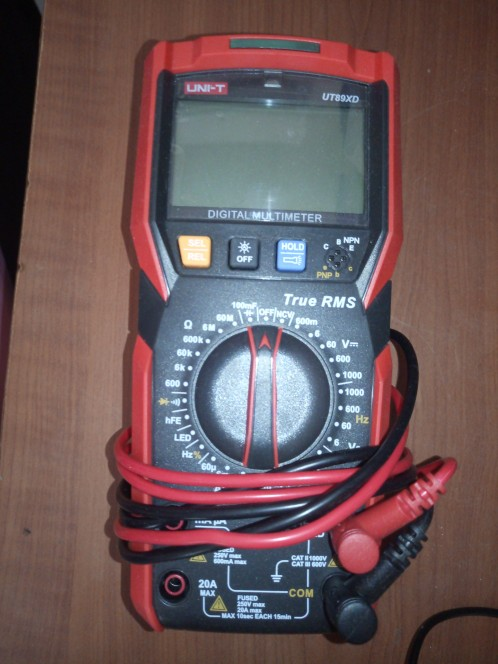 Multímetros Resistência Capacitância Frequency