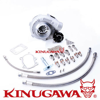 "Kinugawa GTX Ball Bearing Turbocharger 3"" Anti-Surge GTX2867R T25 5 Bolt for Nissan S14 S15"