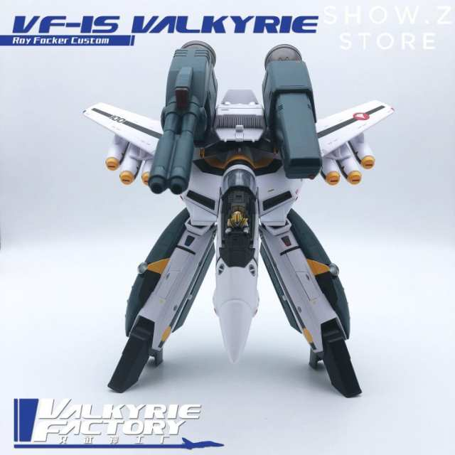 [Show Z Store] Valkyrie Factory VF 1/60 VF-1S VF1S Macross Roy Fokker  Focker Special Version Full Painted Action Figure