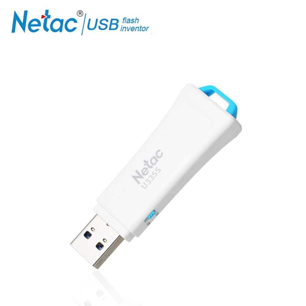 Netac USB 3.0-Stick Schreiben Schützen Stick 16 gb 32 64 gb Weiß Stift Stick Disk 16 gb 32 gb 64 gb Kunststoff U335S USB Stick Schlüssel