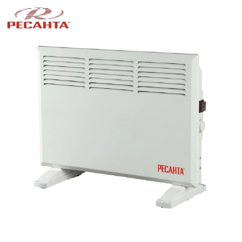 Convector RESANTA OK-1000CN Heating device Electroconvector Forced convection heater Wall-hung convector Mechanical converter convector resanta ok 1000