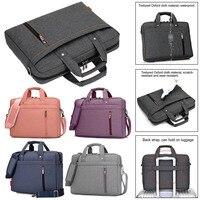 Eagwell Upgrade waterproof Laptop bag 15.6/15/14/13inch Shoulder portable Messenger shockproof Notebook bag for macbook air case