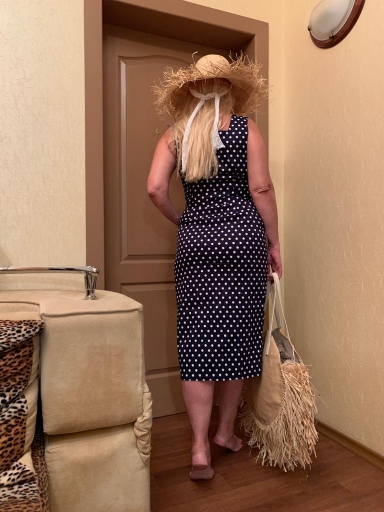 Elegant Dress Sleeveless Uncovered Buttons Slim Fit Sashes Mid Calf Vestidos Women Summer Fashion Dress photo review