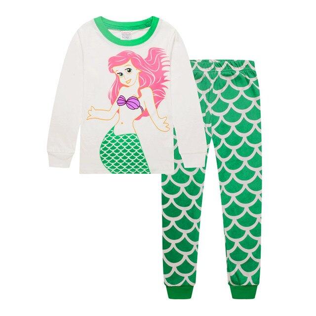 2c7027b2b Cartoon Baby grils Pajamas underwear Suits Autumn Long Sleeve ...
