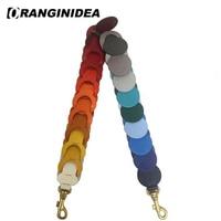 17 SS Circle Link Shoulder Strap for Bags Genuine Leather Bag Strap Rainbow Handbag Shoulder Bag Straps Replacement Belt Bag