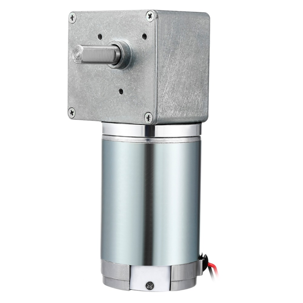 UXCELL DC Motor 12V 80 RPM 8mm Shaft High Torque Reversible Turbine Worm Gear Motor For Remote Control Curtains Locks UXCELL DC Motor 12V 80 RPM 8mm Shaft High Torque Reversible Turbine Worm Gear Motor For Remote Control Curtains Locks
