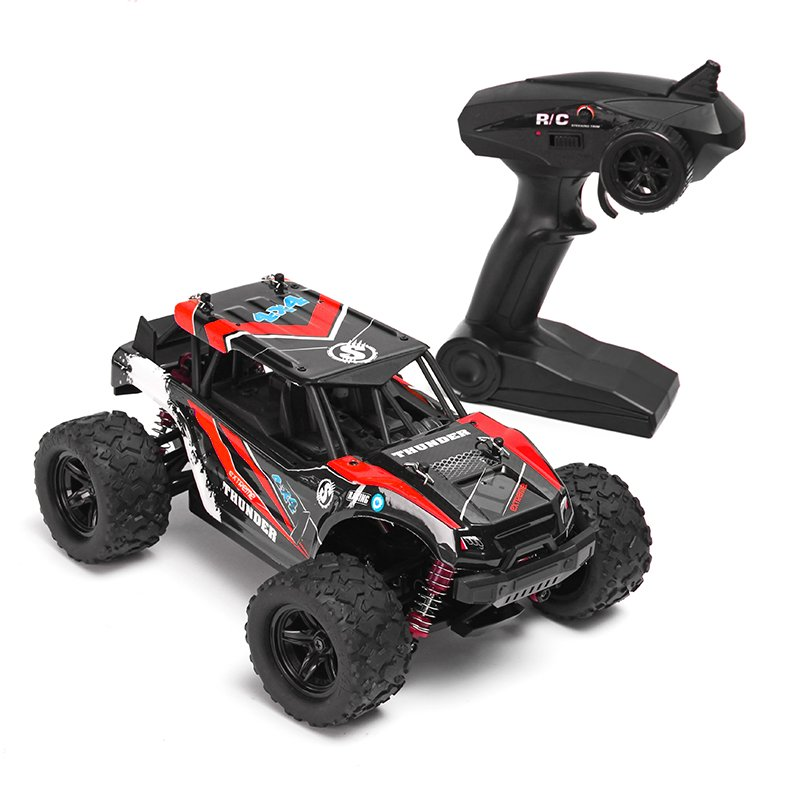 18311 1:18 35km/h 2.4G 4CH 4WD High Speed Climber Crawler RC Car Toys Blue Red RC Toys Models For Boy Kids Gifts Presents showcase presents blue beetle volume 1