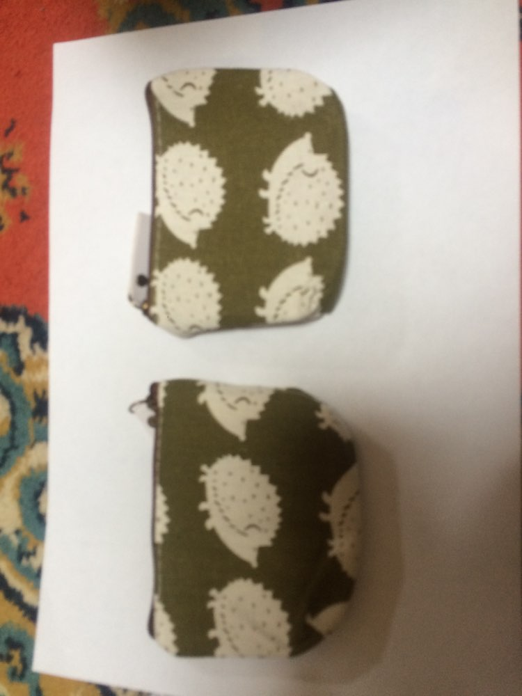 Women Casual Cartoon Cute Canvas Coin Purse Card Holder Bag Key Bag Small Wallet for Coins Zipper Pouch Coin Purse photo review