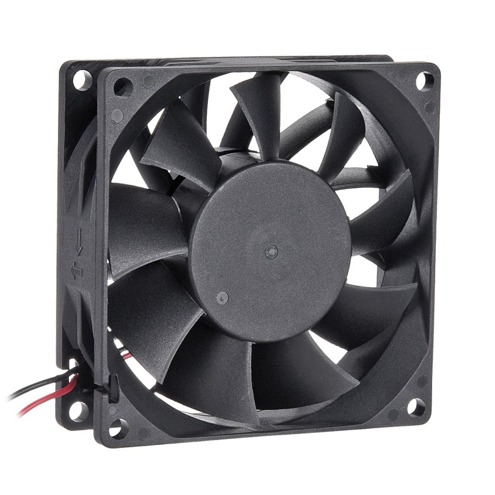 UXCELL 1pcs Brushless DC <font><b>Fan</b></font> SNOWFAN Authorized 40x40x20/40x40x28/60X60X20/<font><b>80x80x15</b></font>/80x80x25/120x120x25mm 24V Low Temperature image