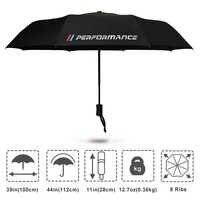 M performance Logo Umbrella For BMW X5 X3 X6 E46 E39 E38 E90 E60 E36 F30 F30 E34 F10 F20 E92 E38 E91 E53 E87 M3 M5 3 5 7 Series