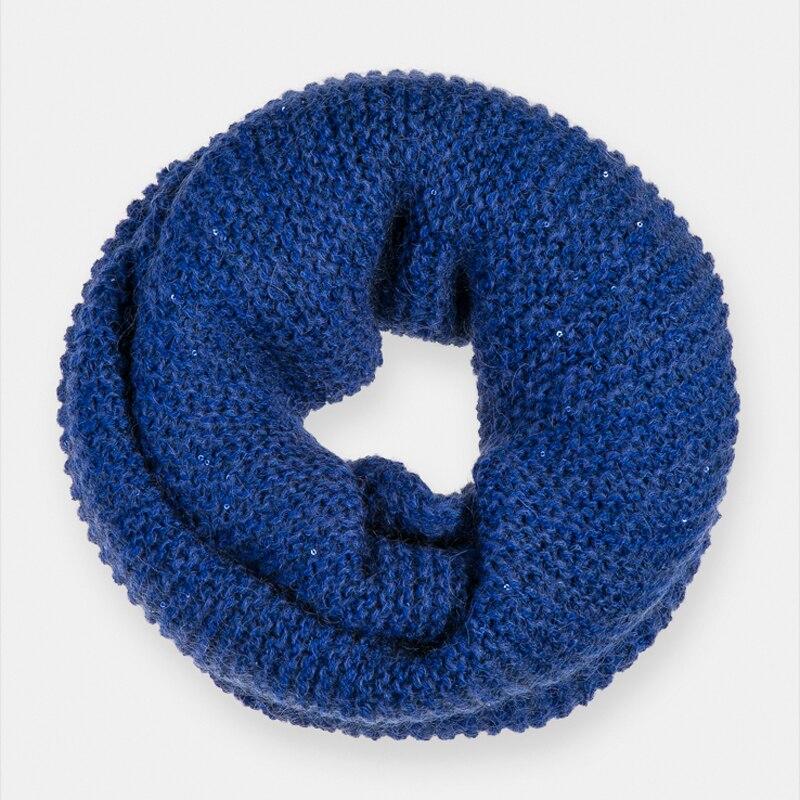 Scarf for women Canoe 3441564 FUROR stylish bohemian style wavy stripe pattern voile bib scarf for women