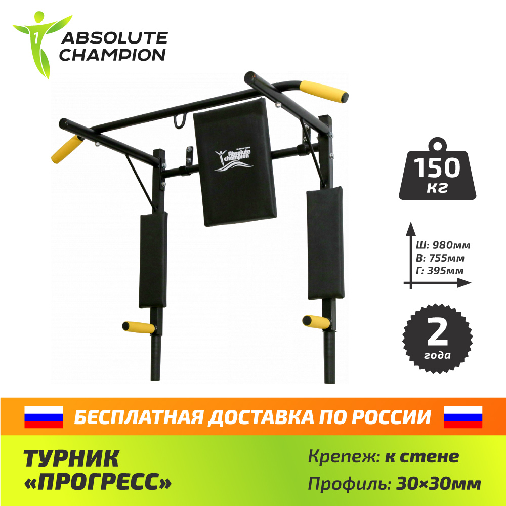 Horizontal bar parallel bars for the gym and at home PROGRESS Absolute Champion цена