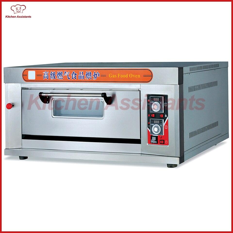 купить HTR20Q Gas Food Oven of single deck of bakery equipment по цене 116229.49 рублей