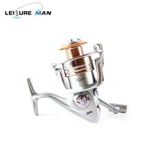 Steel fishing wheel Spinning wheel Fishing wheel Proper and left hand interchangeable Steel Spool Lengthy Distance Throwing