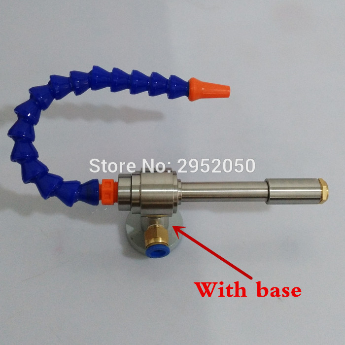 Free shipping Vortex Hot and Cold Air Dry Cooling Gun with Flexible Tube with Switch Heatproof 145mm with baseFree shipping Vortex Hot and Cold Air Dry Cooling Gun with Flexible Tube with Switch Heatproof 145mm with base