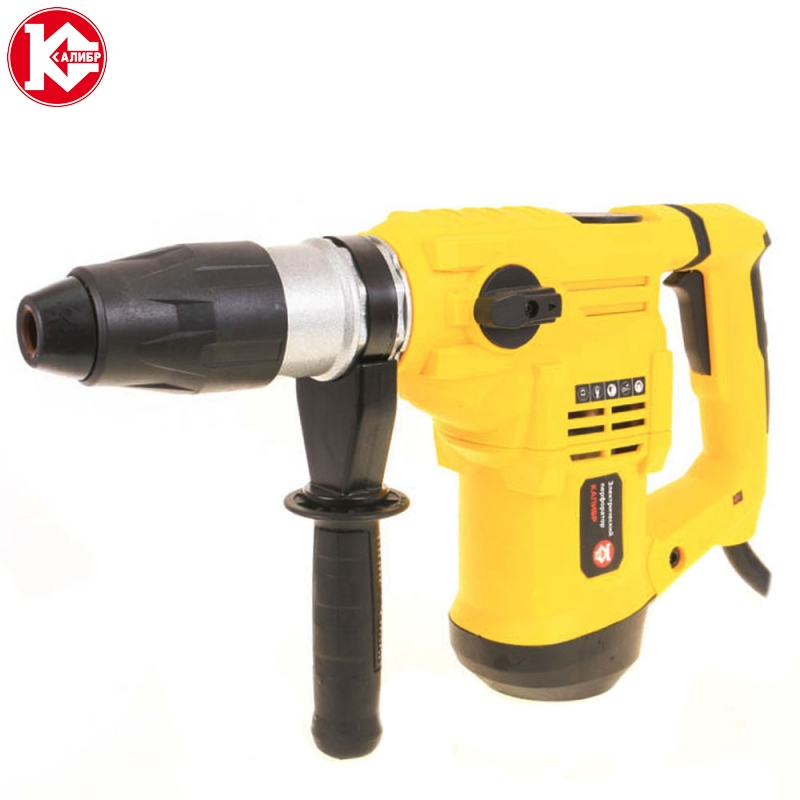 Electric rotary hammer drill Kalibr EP-1500/40M kalibr ep 900 30m electric demolition hammer punch electric rotary hammer power tools