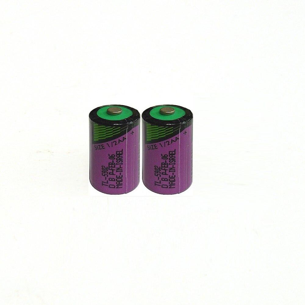 2pcs/lot New High Quality TL-5902 1 / 2AA ER14250 SL350 3.6V 1/2 AA PLC Lithium Battery