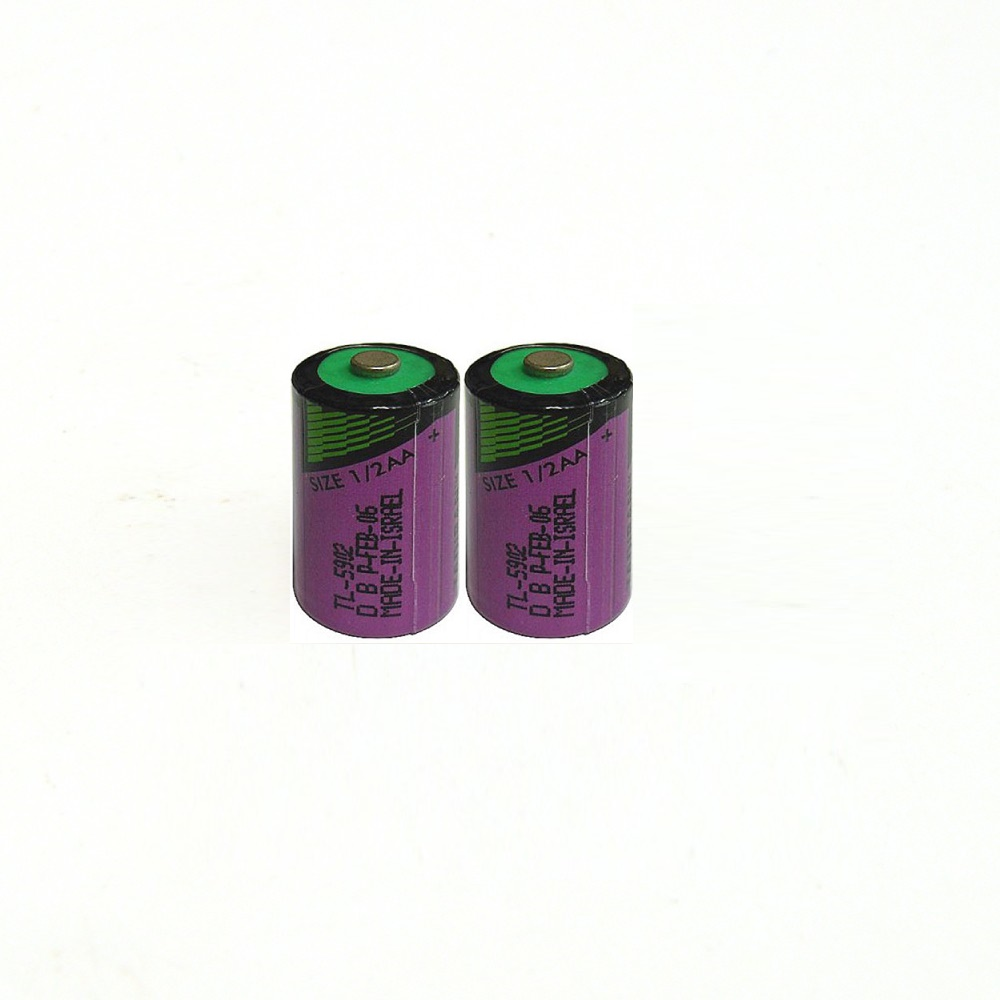 2pcs/lot New high quality TL-5902 <font><b>1</b></font> / 2AA ER14250 SL350 <font><b>3.6V</b></font> <font><b>1</b></font>/<font><b>2</b></font> <font><b>AA</b></font> PLC <font><b>lithium</b></font> <font><b>battery</b></font> image