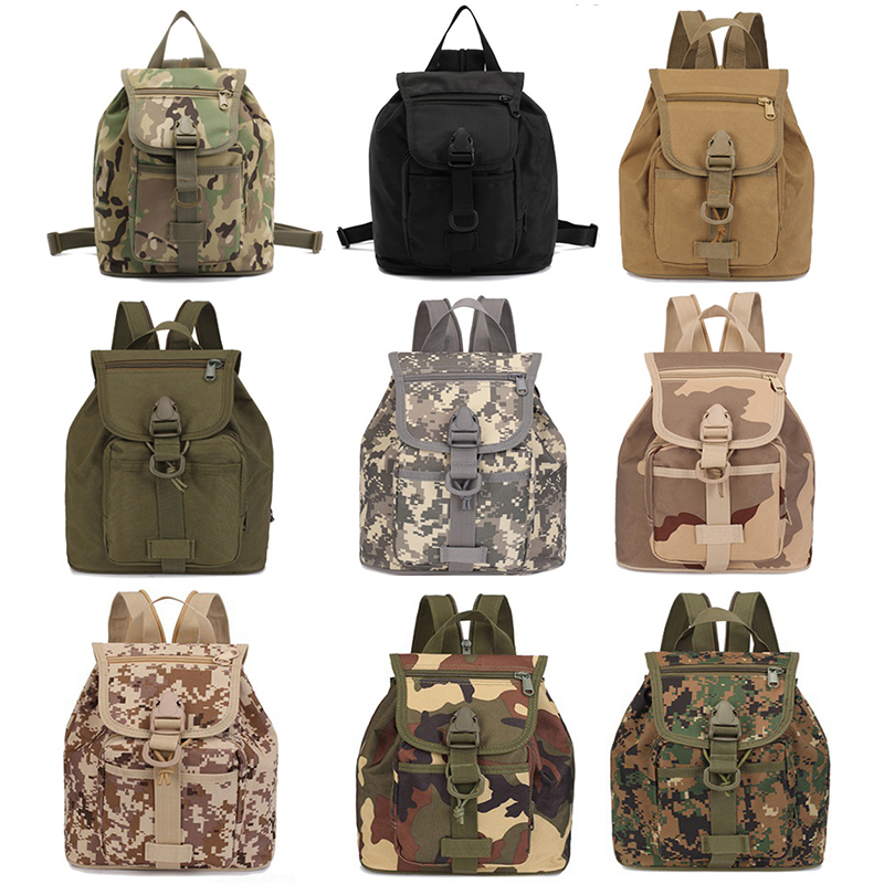 Military Tactical Kids Bag Outdoor Sport Camouflage Army Travel Backpack Hunting Child School Bags Multi-Pockets Camo Rucksack