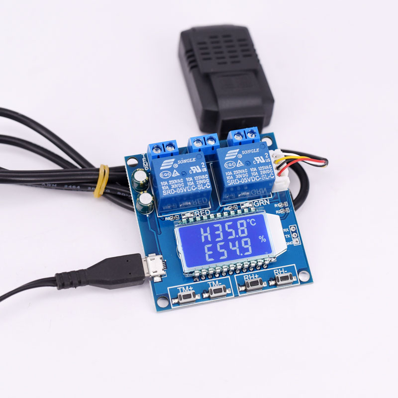 Temperature and humidity control module switch automatic constant temperature and humidity control instrument panel in Motor Controller from Home Improvement