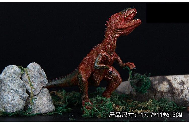 Punk Squelette de dinosaure Crâne Os Tyrannosaurus T-Rex Collier Chaîne Alliage MT