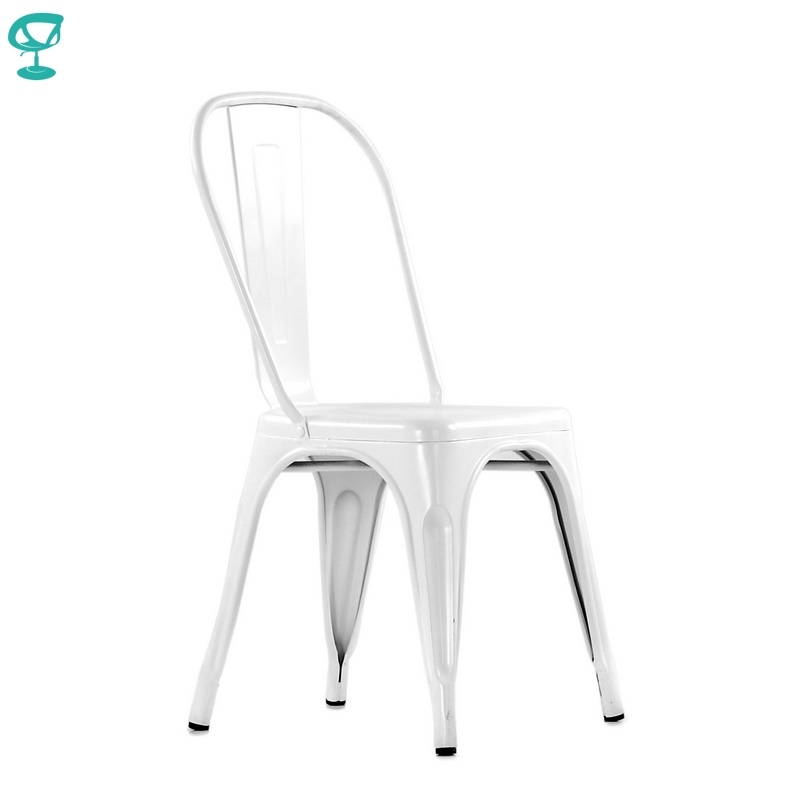 N240RAL Barneo N-240 White Metal Kitchen Interior Stool Chair For Cafe Chair Kitchen Furniture Free Shipping In Russia
