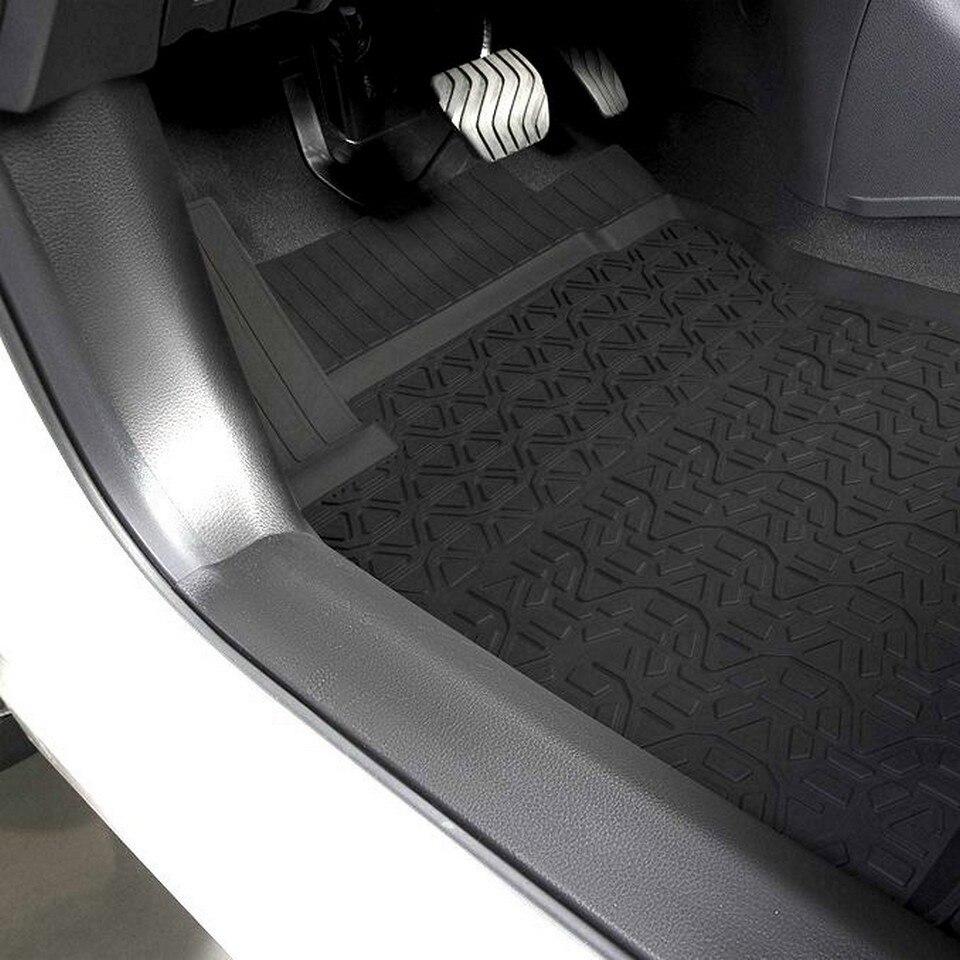 Per Nissan Qashqai J11 2015-2019 tappetini in gomma in saloon solo RUSSO di montaggio 5 pz/set Rivale 64105001