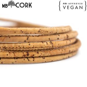 10meter 3mm round cork cord Po