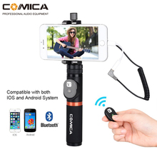 Comica CVM-WS50(A) UHF 6 Channels Wireless Phone Lavalier Microphone System For Smartphone/DSLR Camera