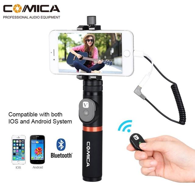 Comica CVM-WS50 (A) UHF 6 canaux sans fil téléphone Lavalier système de Microphone pour Smartphone/appareil photo reflex numérique