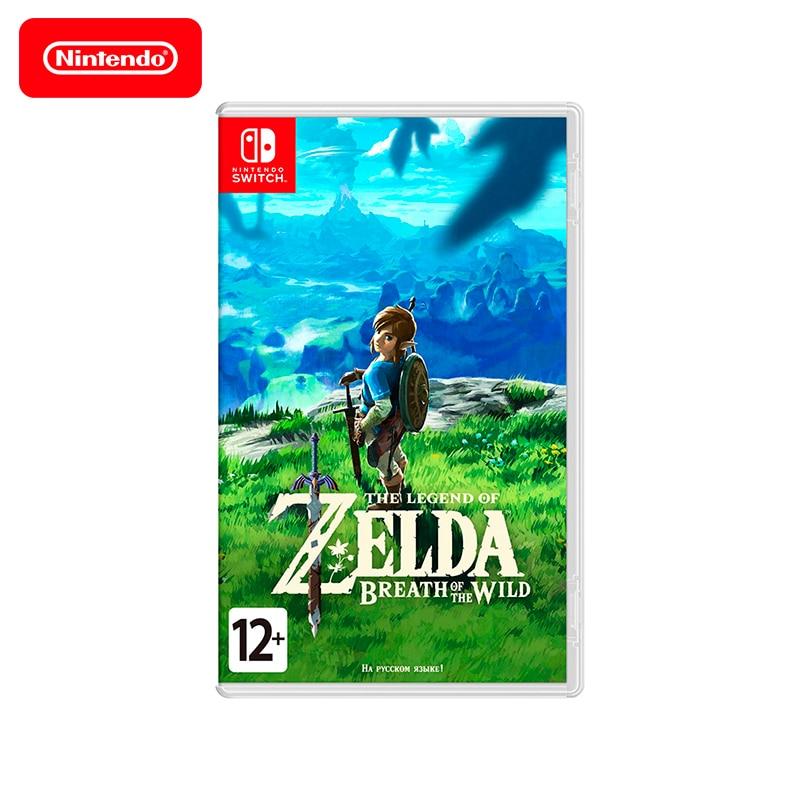 Game Deals Nintendo Switch The Legend of Zelda Breath of the Wild игровая приставка nintendo switch серый the legend of zelda breath of the wild