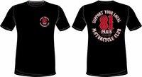 Hip Hop ropa algodón camiseta manga corta de impresión o-cuello camiseta apoyo 81 París desde 1981 T Camisas