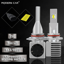 Modern Car 9005 9006 60W 9000LM 6500K White Light Bulb CSP 9005/HB3 9006/HB4 12V 24V LED Headlight Bulbs Mini Size Headlamp